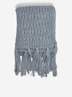 dorothy-perkins-chunky-knit-scarf-grey