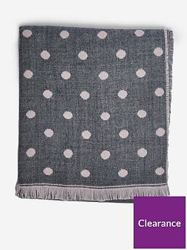 dorothy-perkins-double-sided-spot-scarf-blush