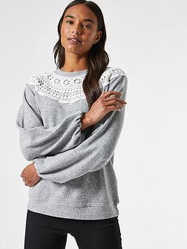 dorothy-perkins-lace-neck-trim-brushed-top-greynbsp