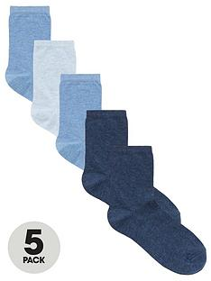 v-by-very-valuenbsp5-pack-ankle-socks-plain
