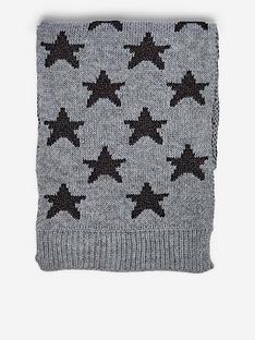dorothy-perkins-knitted-star-lurex-scarf-grey