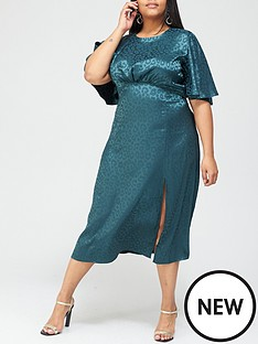 ax-paris-curve-satin-midi-dress-teal