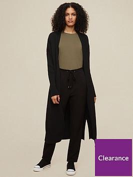 dorothy-perkins-tallnbsplongline-rib-cardigan-black