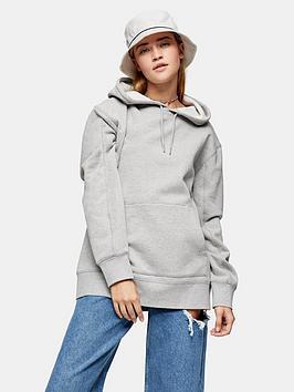 topshop-overlock-hoodienbsp--grey