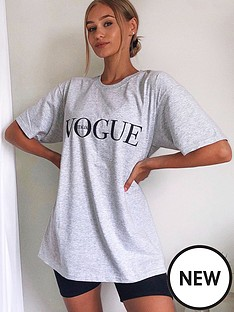 ax-paris-vogue-oversized-t-shirt-grey