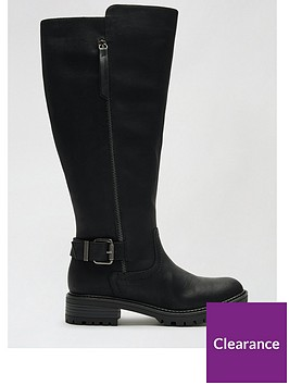 dorothy-perkins-kaptain-zip-cleated-long-boots-black