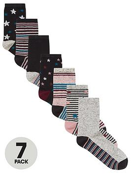 v-by-very-value-7-pack-ankle-socks-navy-mix