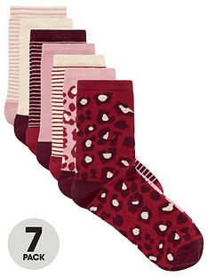 v-by-very-value-7-pack-ankle-socks-pink-mix