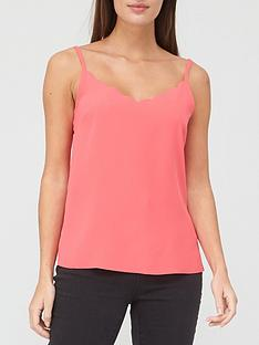ted-baker-scallop-neckline-cami-top-pink