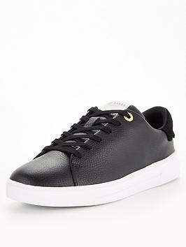 ted-baker-leather-trainers-black