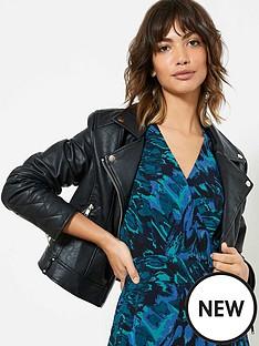 mint-velvet-black-faux-leather-jacket