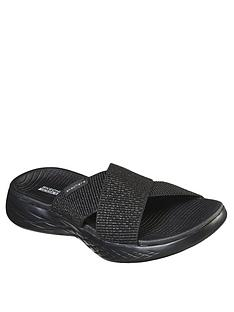 skechers-on-the-go-600-stretch-fit-metallic-gore-flat-sandal-blacknbsp