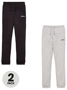 jack-jones-junior-boys-2-pack-logo-joggers-blacklight-grey-marl