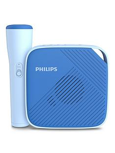 philips-philips-tas4405n-childrens-bluetooth-speaker-with-microphone-and-one-touch-recording-to-micro-sd-card-blue