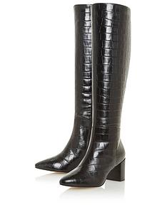dune-london-saffia-crock-knee-high-heeled-boot-black