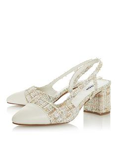 dune-london-croft-fabric-block-heel-shoe-multi