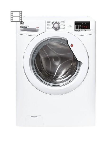 hoover-h-wash-300-h3w-482de1-80nbsp8kg-loadnbsp1400-spin-washing-machine--nbspwhite