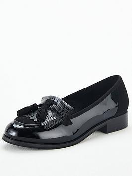 v-by-very-tasselnbsploafer-black