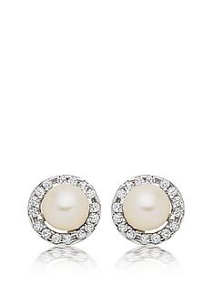 beaverbrooks-9ct-white-gold-cubic-zirconia-freshwater-cultured-pearl-earrings