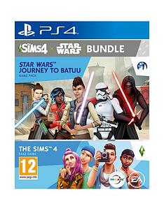 playstation-4-the-sims-4-star-wars-journey-to-batuu-base-game-and-game-pack-bundle--ps4