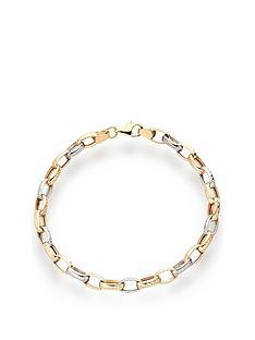 beaverbrooks-9ct-gold-rose-gold-and-white-gold-bracelet