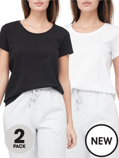 v-by-very-valuenbsp2-pack-scoop-neck-t-shirt-blackwhite