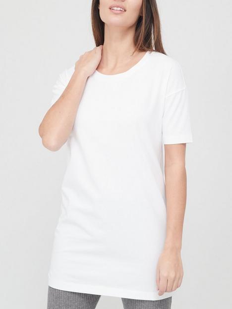 v-by-very-value-shortnbspsleeve-tunic-white