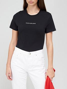 calvin-klein-jeans-short-sleeve-cnnbspt-shirtnbspwith-back-logo-black