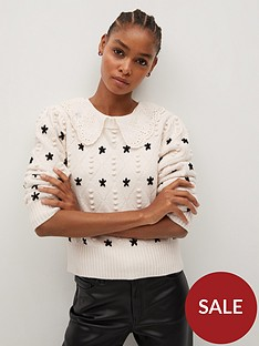mango-embroidered-jumper-beige