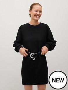 mango-basic-sweat-dress-black
