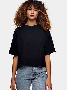 topshop-boxy-t-shirt-black