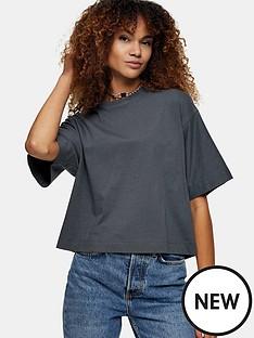 topshop-boxy-t-shirt-grey