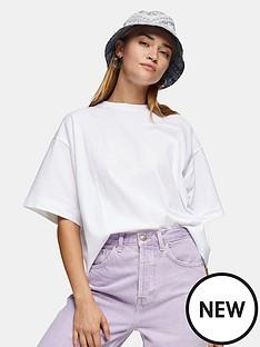 topshop-boxy-t-shirt-white
