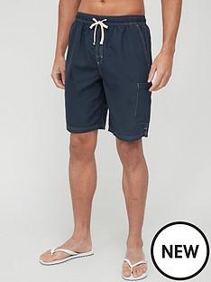very-man-contrast-stitch-longer-swim-shortsnbsp--navynbsp