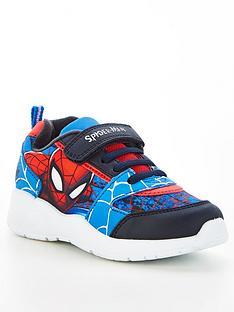spiderman-boys-spiderman-velcro-trainers-blackmulti