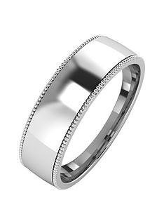 the-love-silver-collection-silver-mill-grain-edge-6mm-court-wedding-band