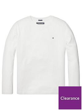 tommy-hilfiger-boys-long-sleeve-essential-flag-t-shirt-white