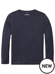 tommy-hilfiger-boys-long-sleeve-essential-flag-t-shirt-navy