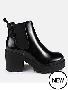 missguided-missguided-patent-cleated-sole-chelsea-boot-blacknbsp
