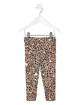 river-island-mini-mini-girls-leopard-print-leggingnbsp--brown
