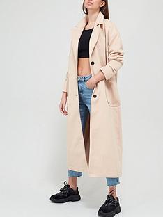 missguided-missguided-oversized-longline-coat-cream