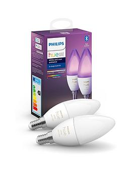 philips-hue-white-and-colour-ambiance-bluetooth-twin-pack-e14