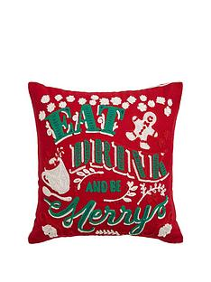 cascade-home-eat-drink-and-be-merry-christmas-cushion
