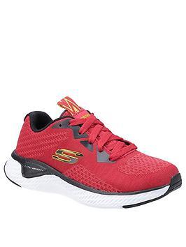 skechers-boys-solar-fuse-kryzik-lace-trainer-red