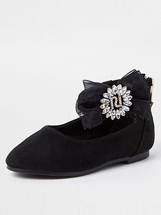 river-island-mini-girls-organza-diamante-ballerina-shoes--nbspblack