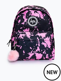 hype-girls-vintage-tie-dye-pom-pom-backpack
