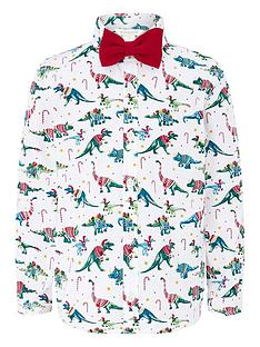 monsoon-boys-christmas-shirt-ivory