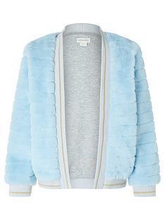 monsoon-girlsnbspfaux-fur-bomber-jacket-blue