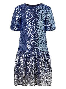 monsoon-girls-ombre-sequin-drop-waist-dress-blue