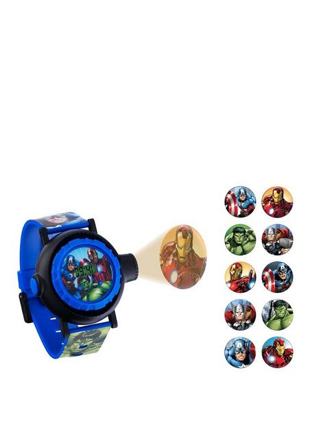 disney-avengers-projector-dial-printed-strap-kids-watch
